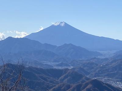 百蔵山登山