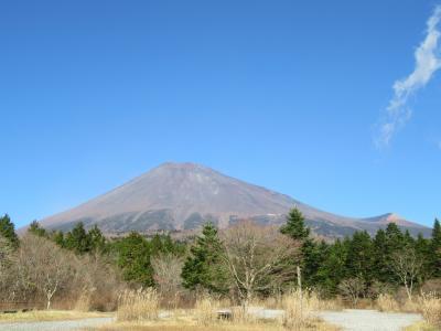 山梨・静岡・富士山の裾野をドライブ