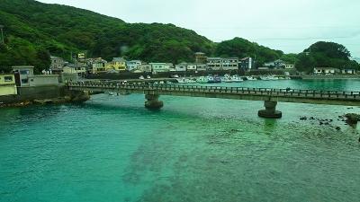 四万十川遊覧と、新足摺海洋館(SATOUMI)の見学等 翌日07。透明度抜群の柏島の下車観光 上巻。