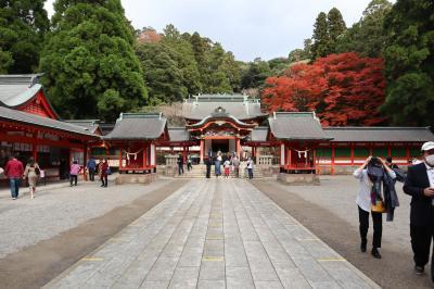 GOTOトラベル南九州の旅・・「霧島神宮」に参拝し、「霧島国際ホテル」に宿泊します。