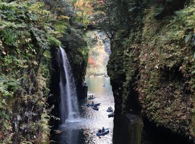 GOTOトラベル南九州の旅・・神話が数多く残る絶景の地、高千穂峡を訪ねます。