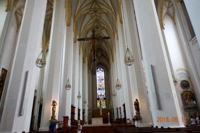 2018 三度目のシニア三人旅 ☆旅の終わりは別行動 私はのんびりミュンヘンの教会巡りを