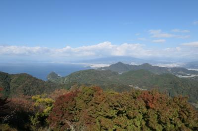 秋の伊豆旅♪ Vol.11 ☆伊豆の国パノラマパーク:紅葉の山と青い駿河湾♪