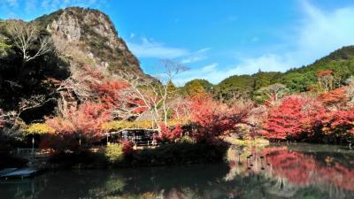 シニア夫婦温泉旅 武雄温泉&福岡と佐賀の紅葉を訪ねて② 御船山楽園の紅葉