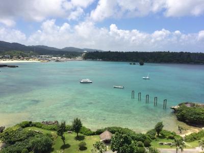 その3.沖縄9泊10日:景色シリーズ ANAインターコンチネンタルビーチリゾート万座