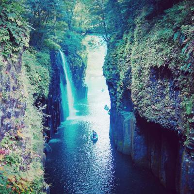 GoToトラベルで黒川温泉のついでにちょこっと高千穂峡
