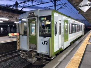2020年11月三連休東日本・函館パスの旅9(花輪線・東北線・北上線)
