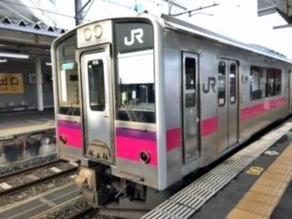 2020年11月三連休東日本・函館パスの旅10(北上線・奥羽線)