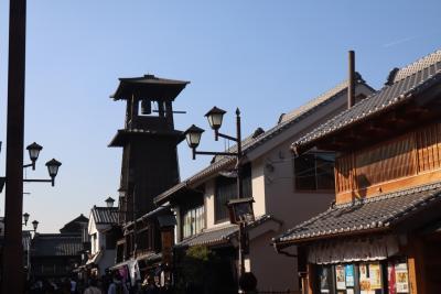 川越の街並みと寺社巡り。