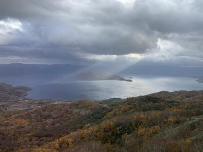 紅葉の北海道