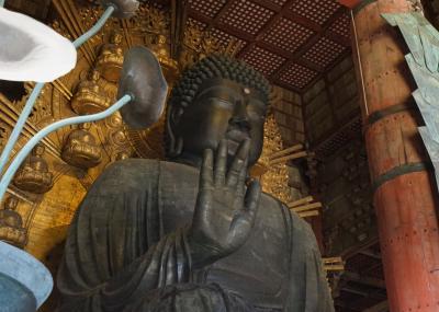 Go Toトラベル~妹と甥っ子と奈良と南山城の旅(2)~東大寺、JWマリオット奈良