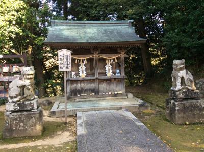 GO TOカニ v[゚ ゚]V!!密を避けて、今年は夕陽が浦へ Vol.2  狛犬ならぬ、狛猫のいる神社へ(=^・^=)