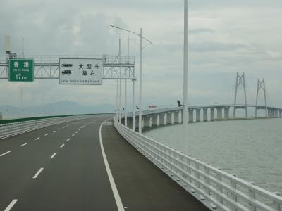 2019年 広深港高速鉄道と港珠澳大橋-C(マカオ編)/マカオと香港を結ぶ橋を渡る