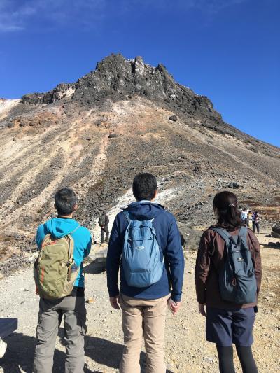 2020秋 栃木2:ロープウェイで日本百名山の那須岳へ、茶臼岳と無間地獄を巡り、殺生石と温泉神社も