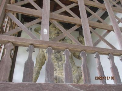 四国霊場最後の巡礼(10)第六十七番札所、大興寺仁王像など。