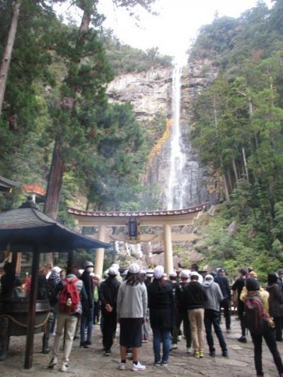 シニアのツアーで行く熊野三山GOTOてんこ盛り3日間 その3 熊野那智大社、青岸渡寺、 熊野速玉大社