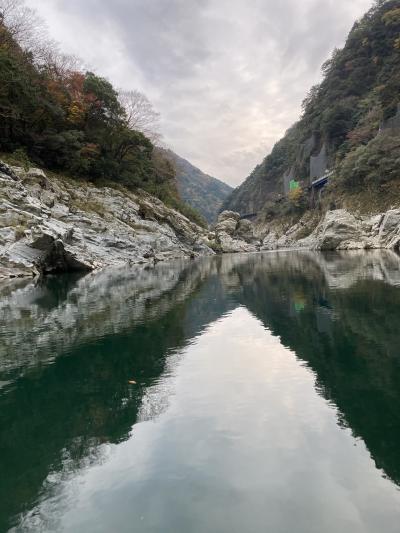 日本の美しき秘境なり祖谷渓と大歩危峡・・5日目