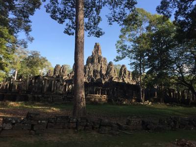 アンコールトムのコロナによるバイヨン寺院の観光情報について