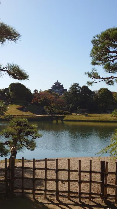 晴れの国、岡山 ~岡山神社と後楽園、3日目~