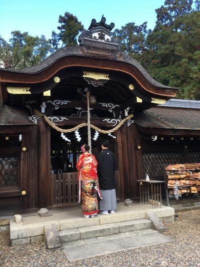 紅葉の京都へ(1)