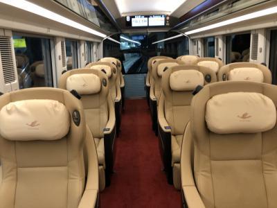 近鉄ひのとりに乗って大阪日帰り 2020年11月