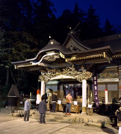 寶登山神社参拝