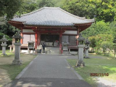 四国霊場最後の巡礼(12)神恵院参拝後、観音寺へ。