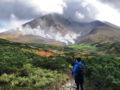 2020.09 紅葉を求めて久々の大雪山③…久々の旭岳、昨日のリベンジ登山