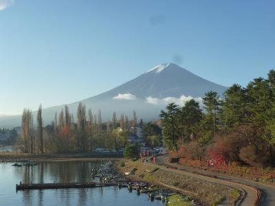 一人 富士山を見る旅②河口湖編