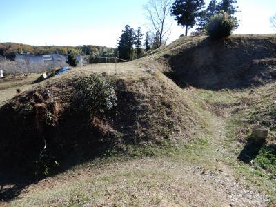 続日本100名城 杉山城・菅谷館へ 179km(23.4km/L)のドライブ