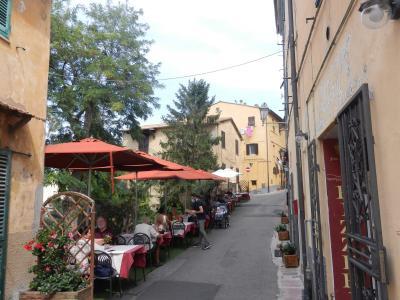 2020年9月 イタリア旅行6 町の中心カスタニェート・カルドゥッチ Castagneto Carducci