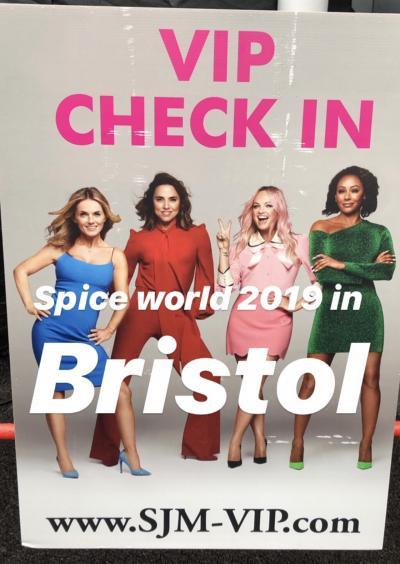 イギリス10泊12日の旅 ⑤ 5日目 SPICE GIRLS再結成コンサート