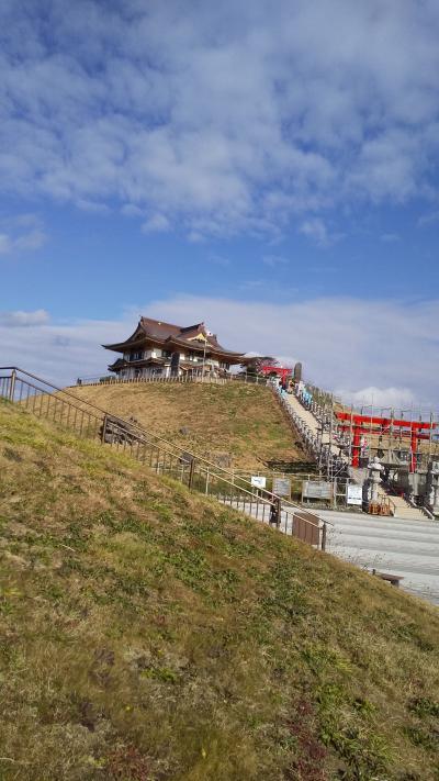 蕪島神社参拝