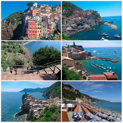 2019年夏イタリア11泊13日★カプリ島・ローマ・フィレンツェに泊まる★⑧チンクエテッレ観光
