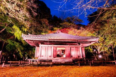 富貴寺、田染荘のライトアップ