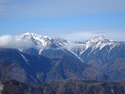 静岡・山梨の山旅♪山伏&櫛形山