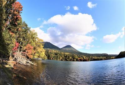 道東・廃線跡をゆく、4 旧池北線から神秘の湖へ