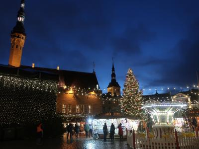本気のクリスマス(サンタとクリマと聖地) その2 エストニアとフィンランド首都