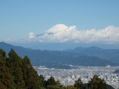 富士山に会いに満観峰へ