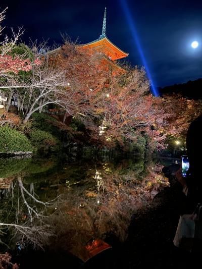 次女と初づくし☆秋の京都&なんばグランド花月&USJの旅