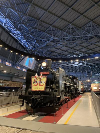 2020年12月母からのお誕生日プレゼントは新幹線と鉄博への旅(間もなく5歳男の子)
