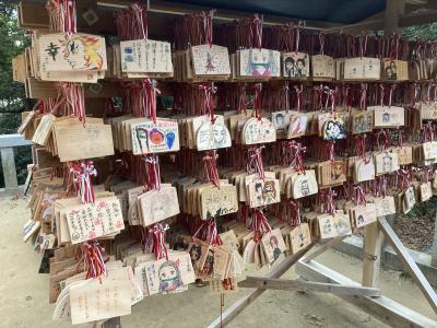福岡の市の3分の1巡って竈門神社も行ってみた