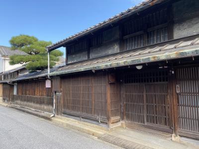 近江八幡の町並みと京都の紅葉を駆け足で見てきました。