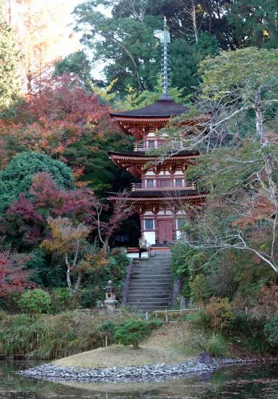 京都南山城に浄瑠璃寺・岩船寺を訪ねる