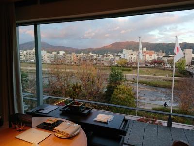 京都で紅葉とホテルステイ@グッドネイチャーホテル・ホテルザ三井京都・リッツカールトン京都