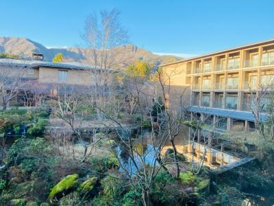 2020年12月  今年最後の週末温泉旅 in「箱根翡翠」