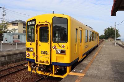 大三東駅で1時間まったり過ごした島原鉄道往復乗車