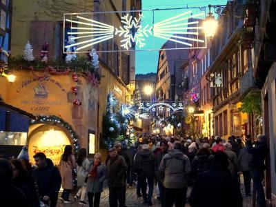 木組と中世のファンタジー♪リクヴィル&リボーヴィレ☆クリスマス市巡りの旅ダイジェスト・アルザス編1
