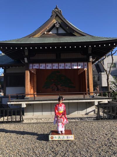 孫の七五三のカメラマンで東京日帰り 2020年11月