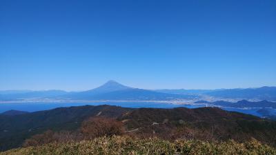 伊豆山稜線歩道(だるま山高原レストハウス~金冠山~達磨山)